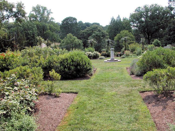 Общественный парк Morris Arboretum, Филадельфия 21955