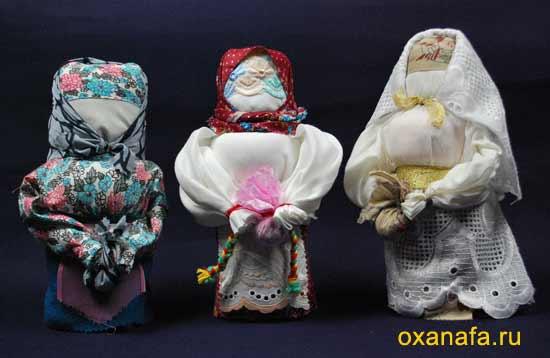 Народные куклы обереги своими руками - Куклы