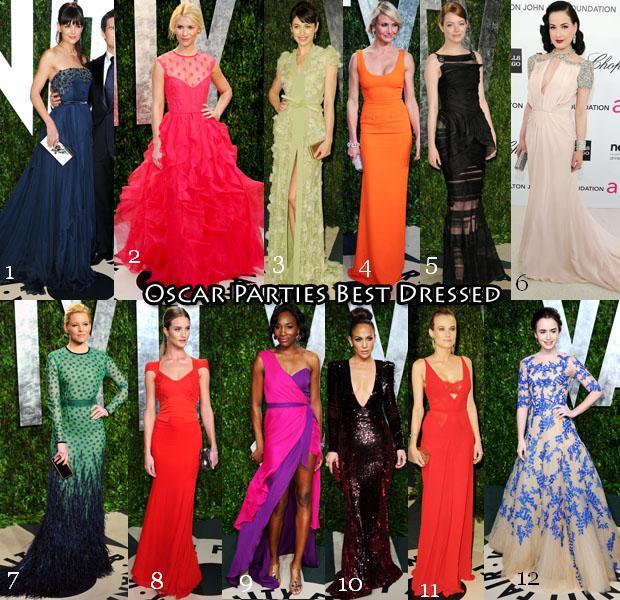 Лучшие платья звезд с церемонии