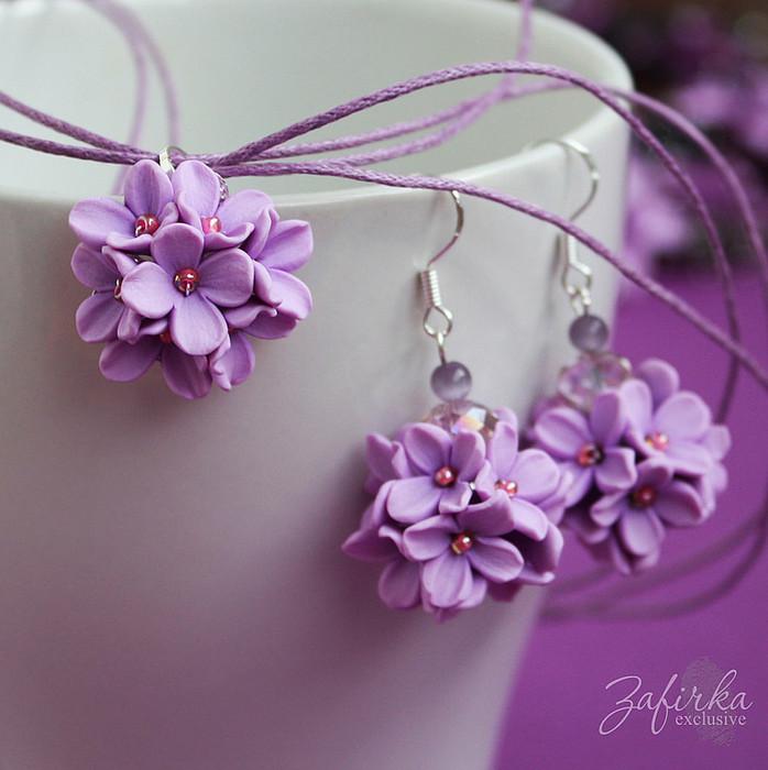 Полимерные цветы своими руками