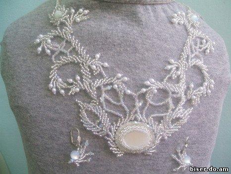декор вышивка бисером