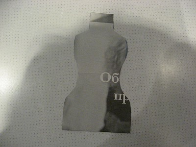 Выкройка манекена (400x300, 30Kb)