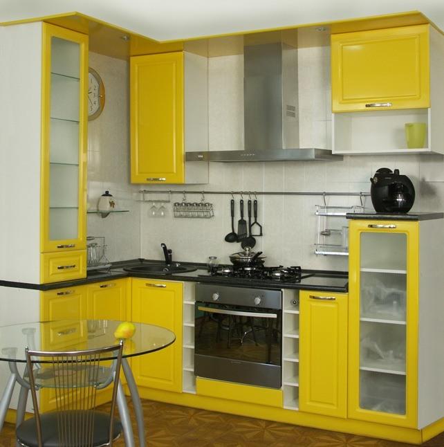кухонные стенки для маленькой кухни