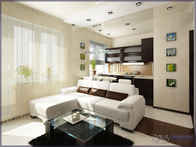 Дизайн квартиры 70 м