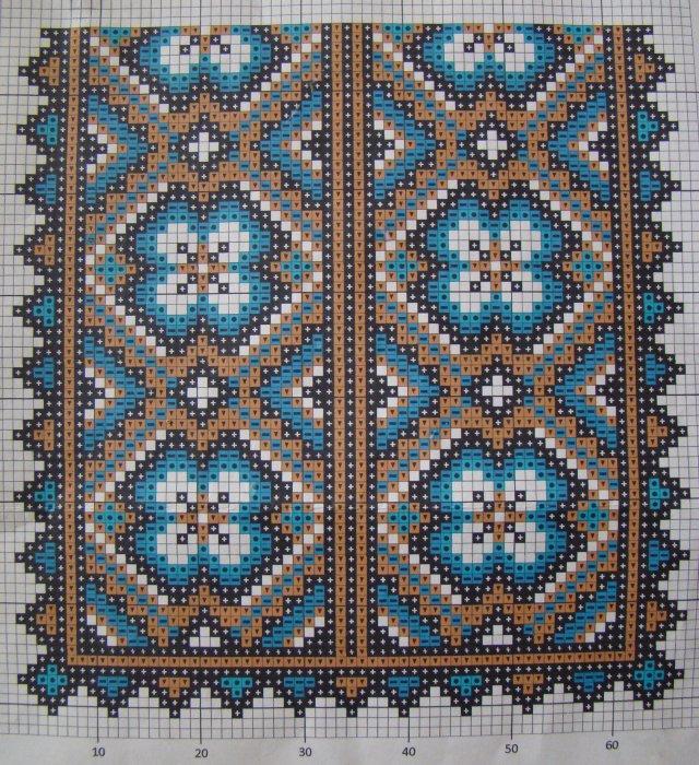 красивые схемы вышивки бисером