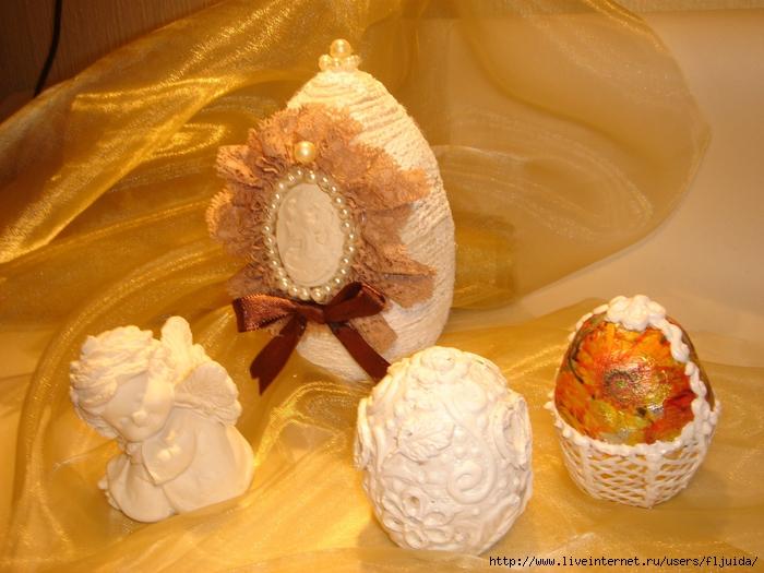 Заготовки для пасхальных яиц