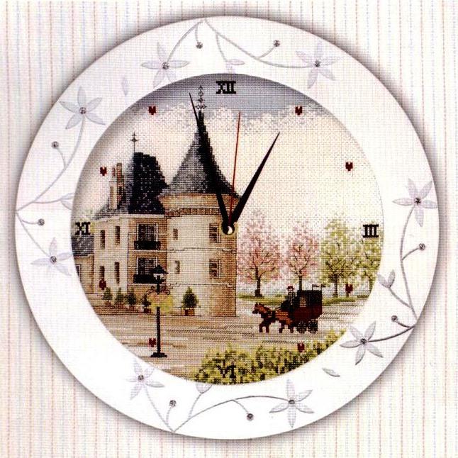 Часы. суши схема крест