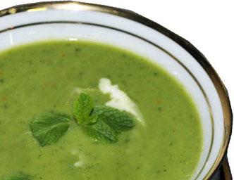 суп из брокколи с рукколой (332x256, 37Kb)