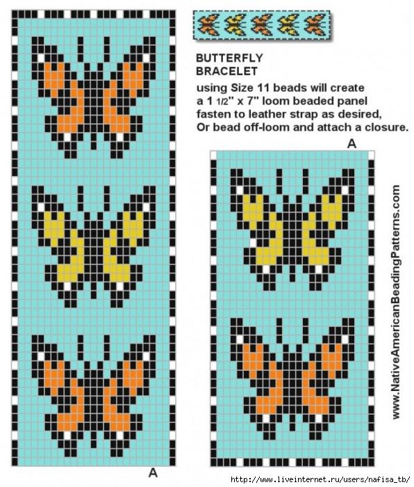 Цветные схемы для вязания