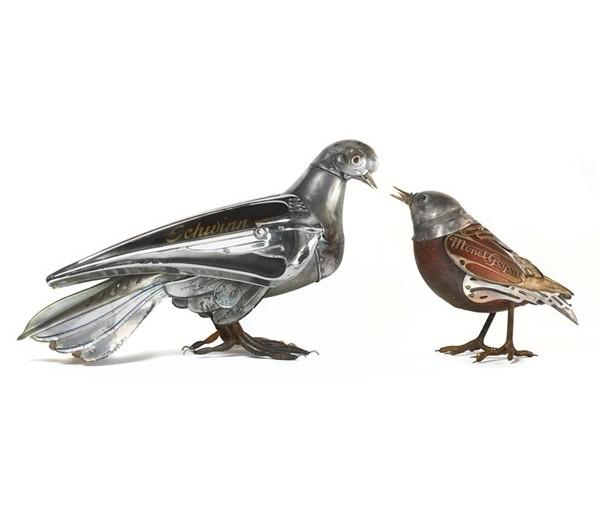 Металлическая современная скульптура Эдуарда Мартине 3 (600x508, 38Kb)