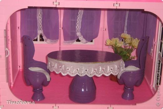 Мебель для кукол из подручных материалов своими руками