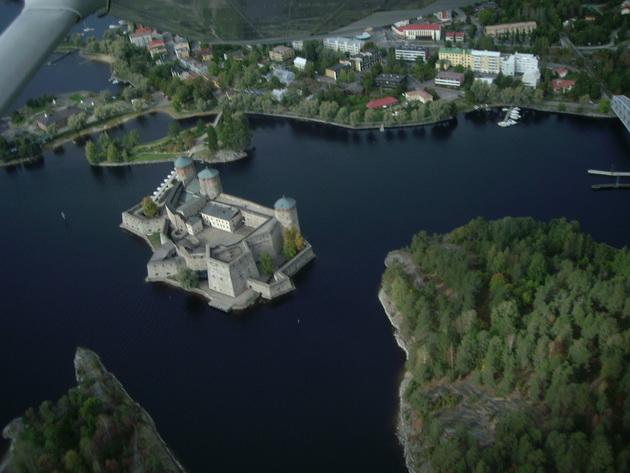 Крепость Олавинлинна. Финляндия. (630x473, 133Kb)