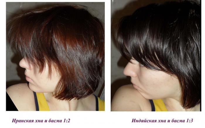 Как покрасить волосы в коричневый цвет хной и басмой