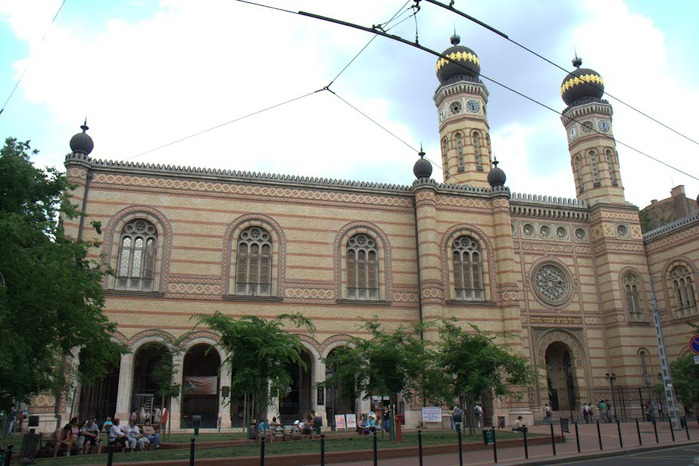 Центральная Синагога Будапешта - Dohany Street Synagogue 34775