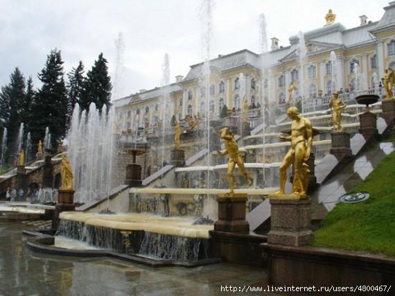 Уникальное фонтанное сооружение в