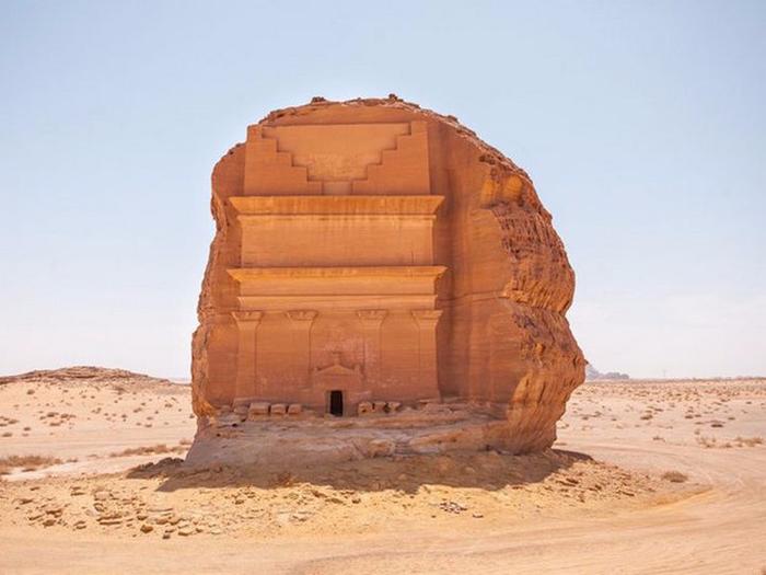Гробница Каср аль-Фарид Саудовская Аравия 2 (700x525, 272Kb)
