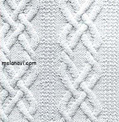 Рельефный-узор-спицами-92 (400x411, 71Kb)