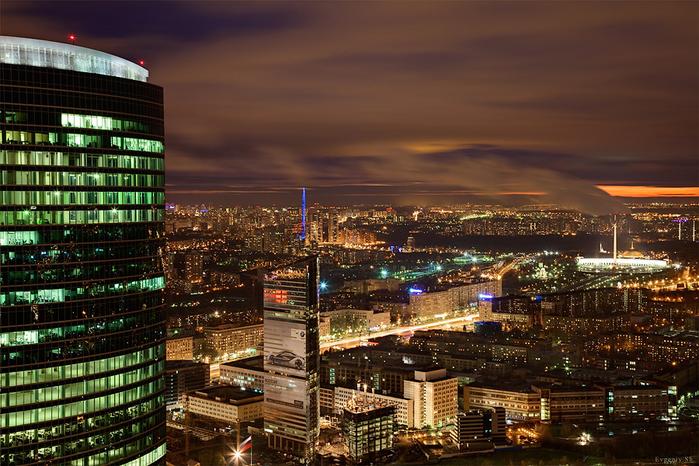 Москва вечерняя 28 (700x466, 473Kb)