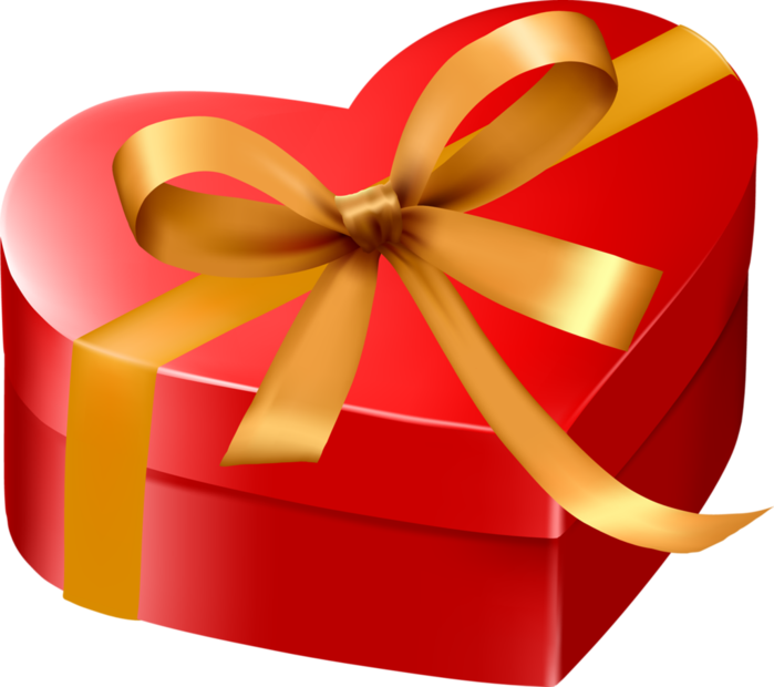 Подарки новогодние прозрачный фон