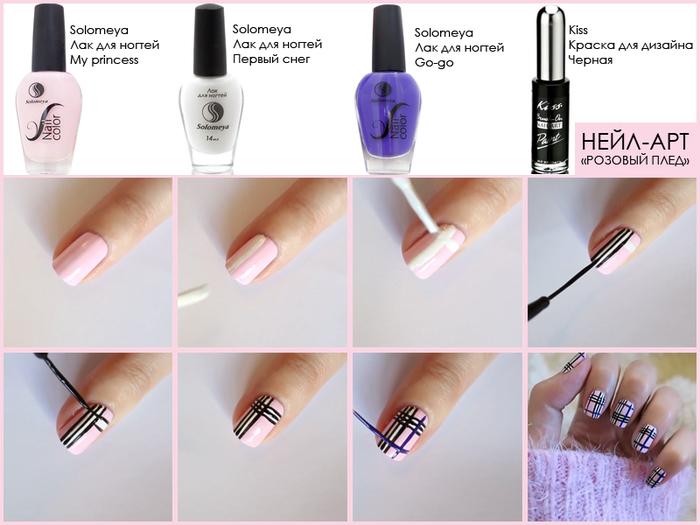 Как правильно накрасить ногти в домашних условиях