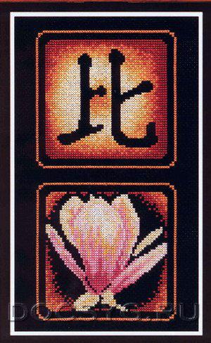 схема вышивки Приближение (300x488, 195Kb)