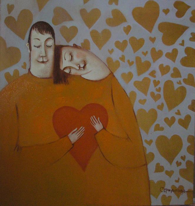 одно-сердце-на-двомх.37х37.х.м.2009г.любовь.портрет (462x500, 484Kb)