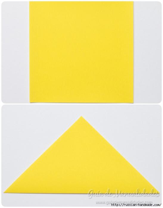 Как сложить ПТИЧКУ в технике оригами (3) (547x700, 156Kb)