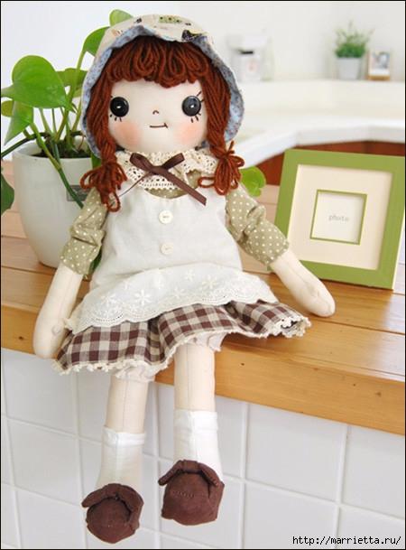 Яна серебренникова куклы мастер класс для начинающих #10