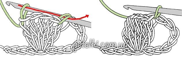 Красивый узор веера крючком3 (630x206, 98Kb)