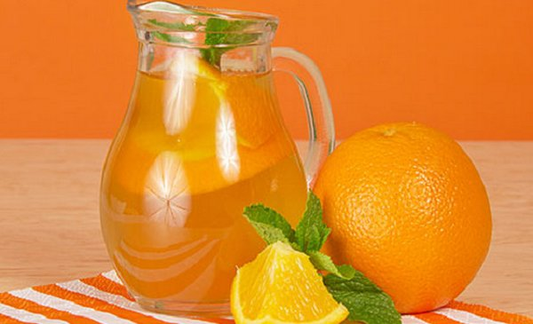 Лимонад с апельсинами в домашних условиях