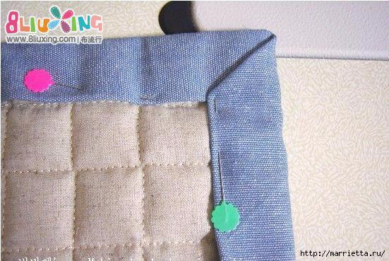 Как окантовать лоскутное одеяло (1) (551x369, 180Kb)