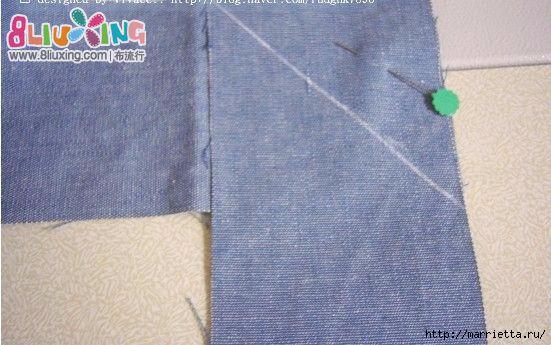 Как окантовать лоскутное одеяло (5) (551x345, 138Kb)