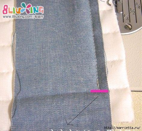 Как окантовать лоскутное одеяло (7) (473x436, 188Kb)