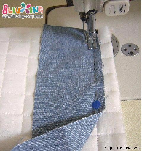 Как окантовать лоскутное одеяло (15) (479x508, 166Kb)