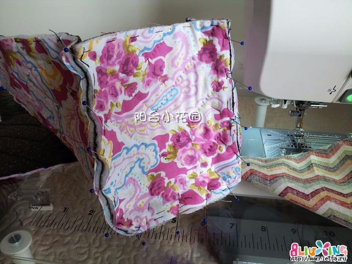 Как сшить сумку - саквояж. Фото мастер-класс (1) (700x525, 296Kb)