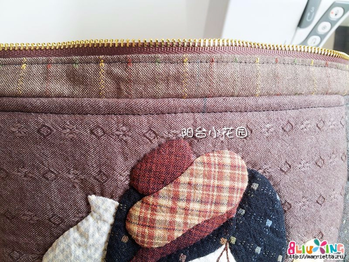 Как сшить сумку - саквояж. Фото мастер-класс (19) (700x525, 415Kb)