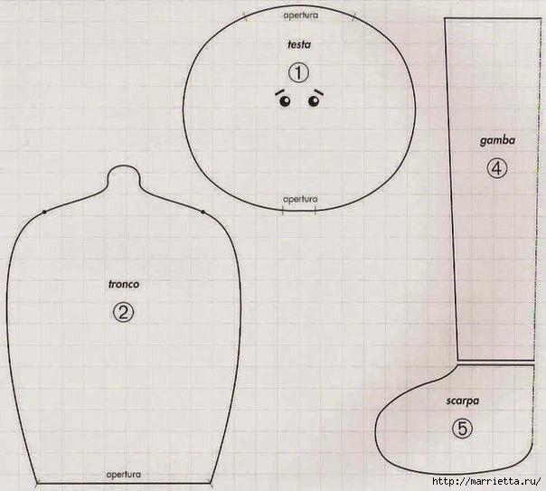 как сшить текстильную куклу (14) (604x543, 129Kb)