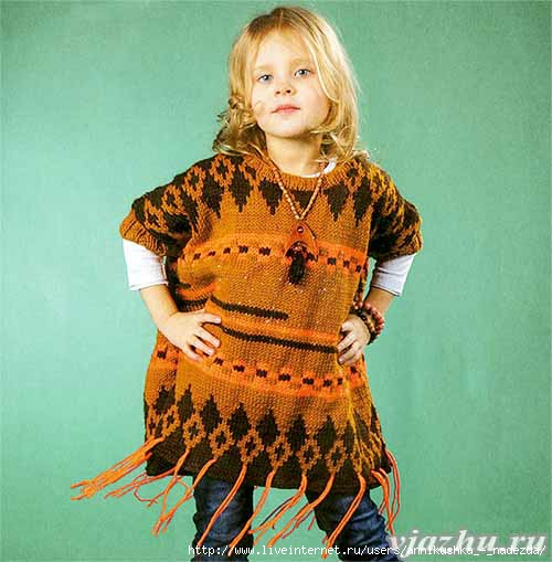 poncho-na-devochku-spitsami-1-00009 (500x509, 126Kb)