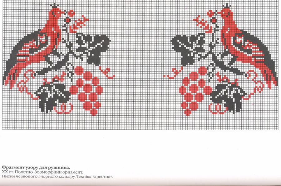 Схемы Гуцульской Вышивки Крестом Блузки