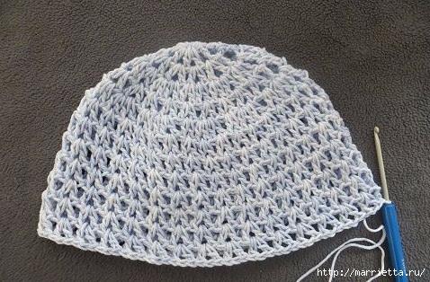 Летняя шляпка крючком для девочки (7) (478x314, 161Kb)