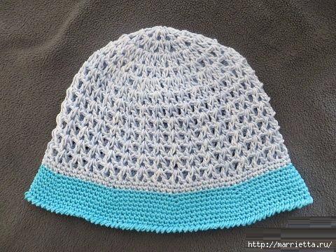 Летняя шляпка крючком для девочки (10) (480x360, 156Kb)