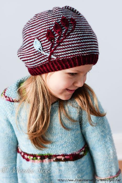 埃琳娜诺德尔的帽子(还有一款同款的脖套) - maomao - 我随心动
