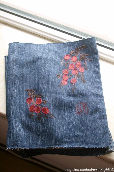 Каталог джинсов с вышивкой