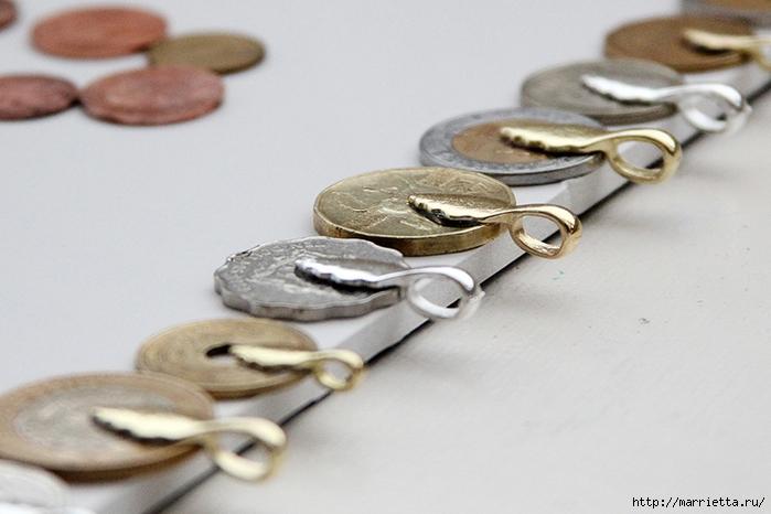Браслет из монет (6) (700x466, 212Kb)