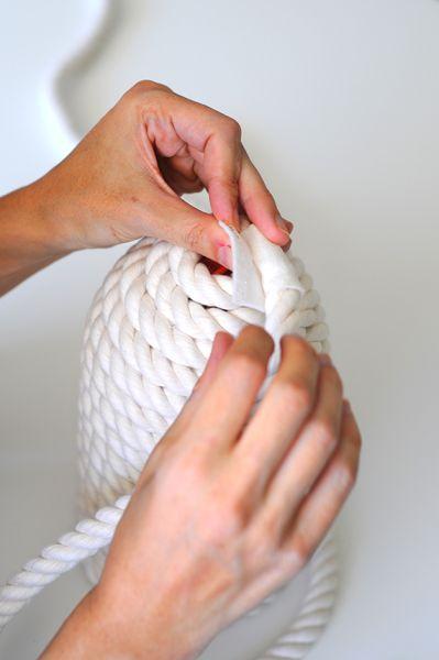 Светильник своими руками из банки, шарика и веревки (5) (399x600, 115Kb)