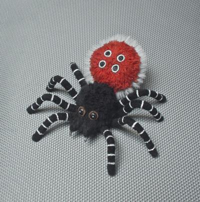 божья коровка паук (400x405, 129Kb)