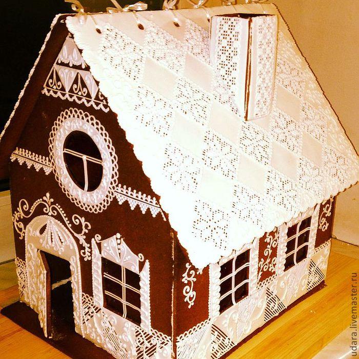 Пряничные домики своими руками пошаговые