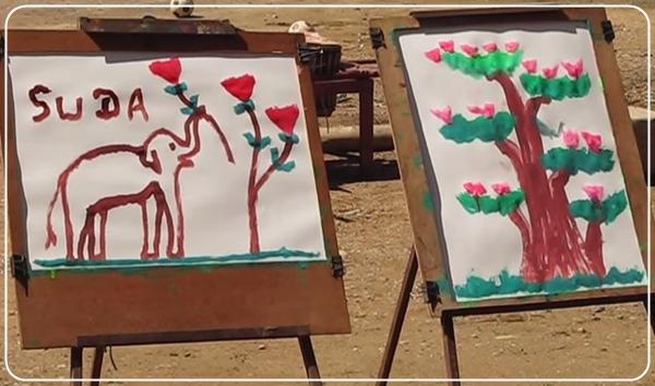 Рисуем слона видео урок от suda