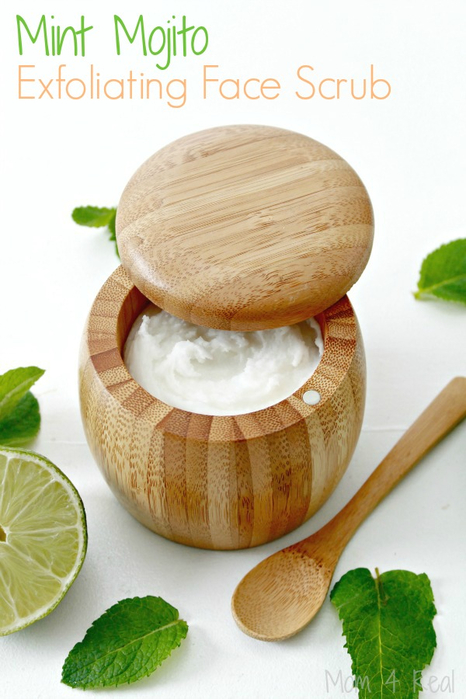 Mint-Mojito-Exfoliating-Face-Scrub-Essential-Oils (466x700, 302Kb)