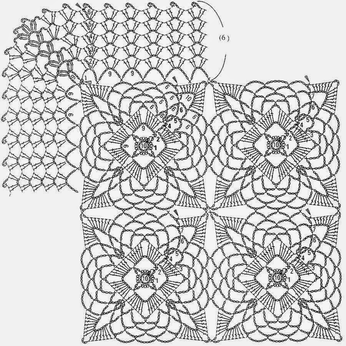 crochet-pattern-tablecloth-bedspread S9(2) (700x700, 368Kb)